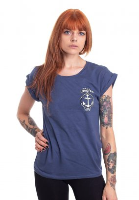Broilers - Open Seas with Backprint Blue - Girly