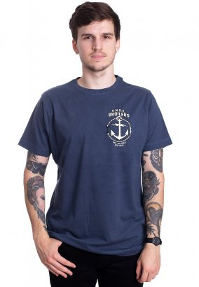 Broilers - Open Seas with Backprint Blue - T-Shirt