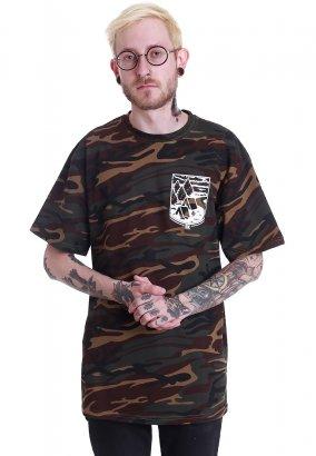 Brutal Knack - GNSLM Camo - T-Shirt