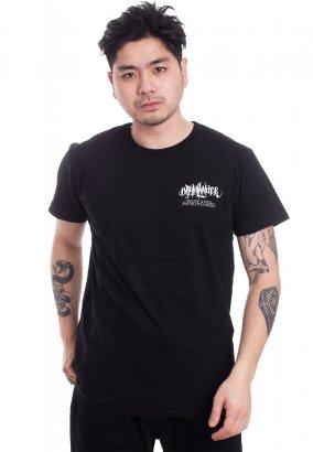 Brutal Knack - Grizzle V2 Black - T-Shirt