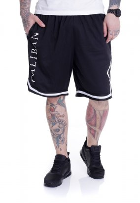 Caliban - Gravity Logo Striped Zip - Shorts