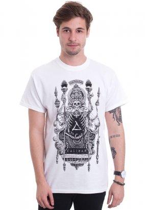 Caliban - Lotus God White - T-Shirt