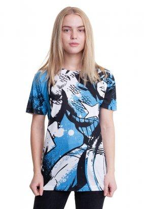 Captain America - Allover - T-Shirt
