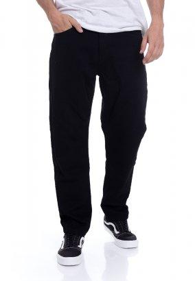 Carhartt WIP - Master Denison Black Rinsed - Pantaloni