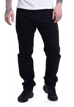 Carhartt WIP - Klondike Maitland Black Rinsed - Jeans