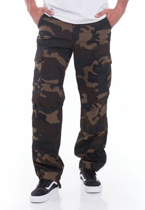 Carhartt WIP - Regular Cargo Columbia Ripstop Camo Laurel Rinsed - Pants