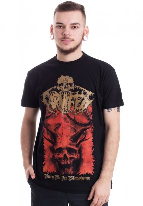 Carnifex - Bury Me In Blasphemy - T-Shirt