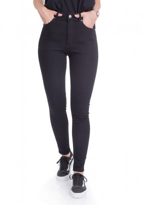 Cheap Monday - High Skin Pure Black - Jeans