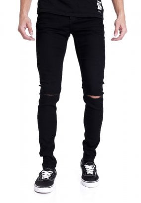 Cheap Monday - Him Spray Cut Black - Vaqueros