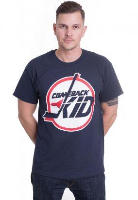 Comeback Kid - Circle Navy - T-Shirt