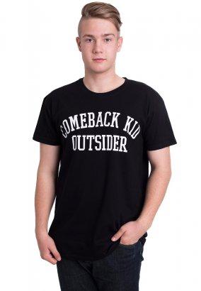 Comeback Kid - College Logo - T-Shirt