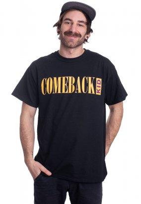 Comeback Kid - Stu Live Jump - T-Shirt