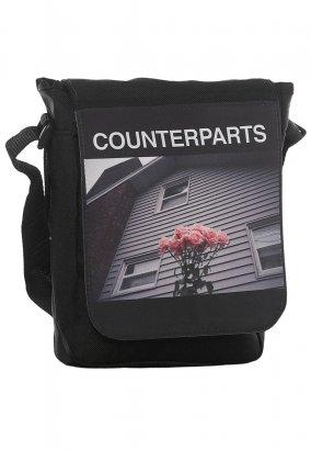 Counterparts - Flower Small Messenger - Tasche