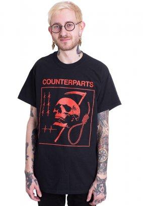 Counterparts - Skull Noose - T-Shirt