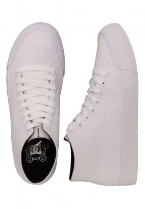 DC - Evan HI Zero TX White - Girl Shoes
