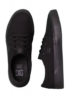 DC - Trase TX Black/Black/Black - Zapatos