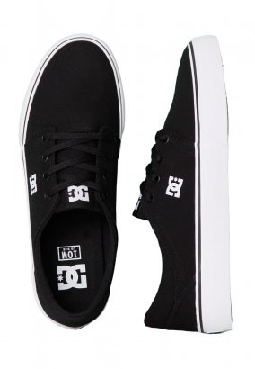 DC - Trase TX Black/White - Chaussures