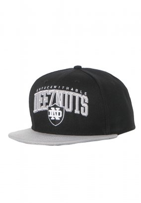 Deez Nuts - Unfuckwithable Black/Grey Snapback - Cap