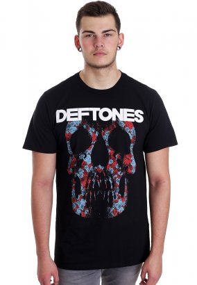 Deftones - Minerva Rose Skull - Camiseta
