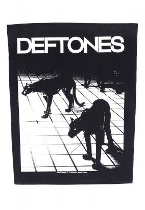 Deftones - Panther - Backpatch