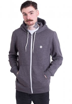 Element - Cornell Classic Charcoal Heather - Zipper