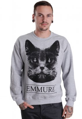 Emmure - Cat Cult Sportsgrey - Sweater