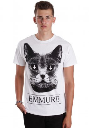 Emmure - Cat Cult White - T-paita