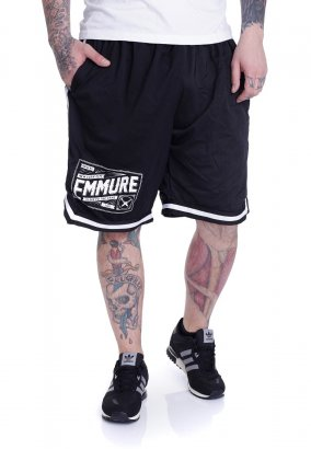 Emmure - Stamp Striped Zip - Shorts