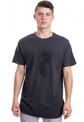 Famous Stars And Straps - Blasted Charcoal - T-Shirt