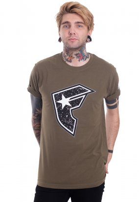 Famous Stars And Straps - Composition Olive - T-Shirt