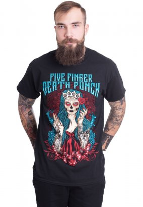 Five Finger Death Punch - Lady Muerta - T-Shirt