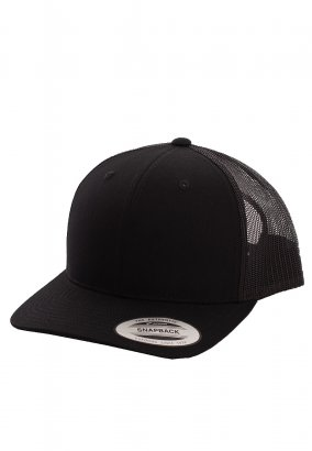 Flexfit - Retro Trucker Blk - Cap