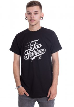 Foo Fighters - Script Logo - T-Shirt