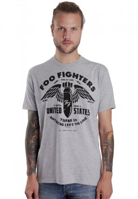 Foo Fighters - Nothing Left To Lose Heather Grey - T-Shirt