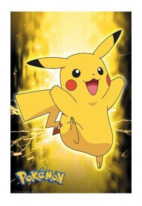 Pokémon - Pikachu Neon - Poster