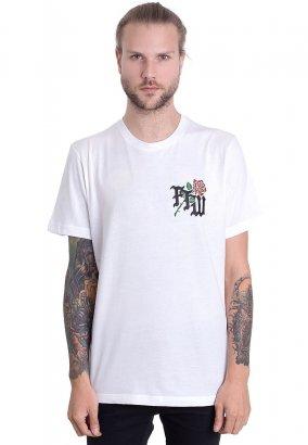 Fuchsteufelswild - Roses Are Dead White - T-Shirt