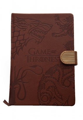Game Of Thrones - Sigils - Notizbuch