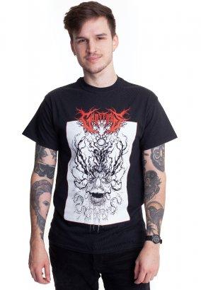 Ghost Iris - Spiral Skull - T-Shirt