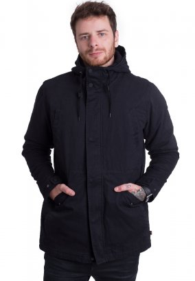 Globe - Goodstock Thermal Fishtail Nu Black - Jacke