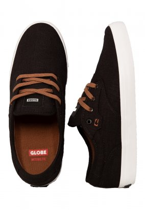 Globe - Motley Black Hemp - Zapatos