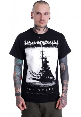 Heaven Shall Burn - Endzeit Schiff - T-Shirt
