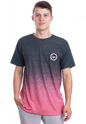 HYPE. - Speckle Fade Forest/Pink - T-Shirt