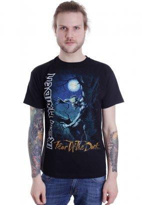 Iron Maiden - Fear Of The Dark Tree Sprite - T-Shirt