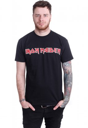 Iron Maiden - Logo - T-Shirt