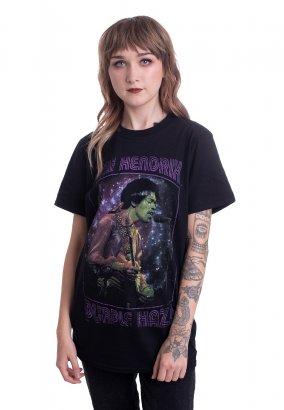 Jimi Hendrix - Purple Haze Frame - T-Shirt