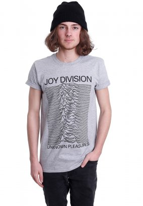 Joy Division - Unknown Pleasures Grey - T-Shirt