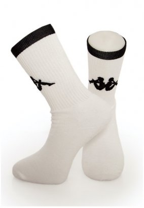 Kappa - Exton Pack Of 3 White - Socken