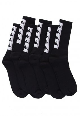 Kappa - Fatal Pack Of 3 Caviar - Socken