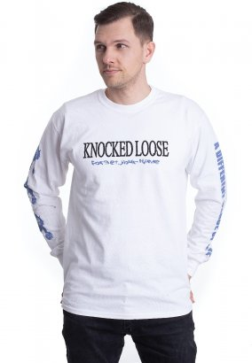 Knocked Loose - Forget Your Name White - Longsleeve