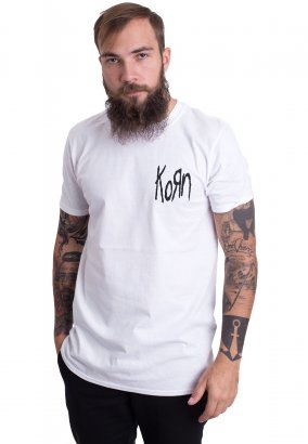 Korn - Suffering White - T-Shirt